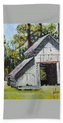 The Verona Barn Hand Towel by Jim Phillips