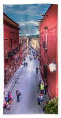 The View Down Recreo Hand Towel