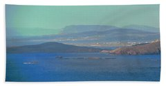 The View From Horn Head Hand Towel by Stephanie Moore
