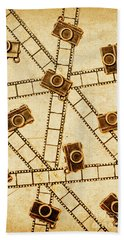 The Vintage Photo Gallery Hand Towel