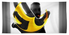 The Virtual Reality Banana Hand Towel