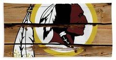 The Washington Redskins 18a Bath Towel