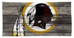 The Washington Redskins 3e Bath Towel