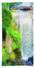 The Water Falls Bath Towel
