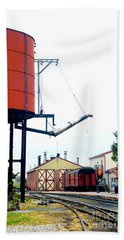 Hand Towel featuring the photograph The Water Tower by Paul W Faust - Impressions of Light