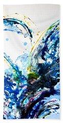 The Wave 2 Hand Towel by Roberto Gagliardi