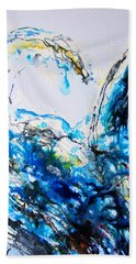 The Wave 1 Hand Towel by Roberto Gagliardi