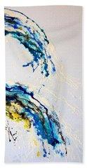 The Wave 3 Hand Towel by Roberto Gagliardi