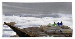 The Wave Watchers Hand Towel