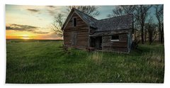 Bath Towel featuring the photograph The Way She Goes by Aaron J Groen