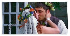 The Wedding Kiss Bath Towel