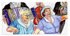 The Wedding - Life On The Stoop Hand Towel
