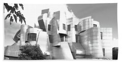 The Weisman Art Museum Hand Towel by Steve Lucas