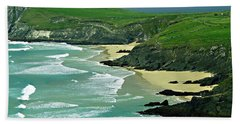 The West Coast Of Ireland Bath Towel by Patricia Griffin Brett