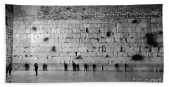 The Western Wall, Jerusalem 2 Bath Towel