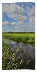 The Wetlands Of Hackmatack National Wildlife Refuge Hand Towel