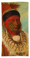 The White Cloud, Head Chief Of The Iowas Hand Towel