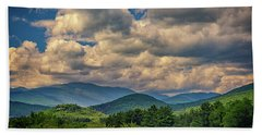 Bath Towel featuring the photograph The White Mountains by Rick Berk