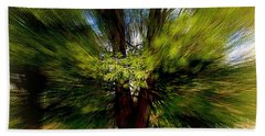 Bath Towel featuring the photograph The Wind by Elfriede Fulda
