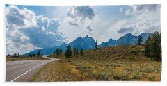 The Winding Road Bath Towel