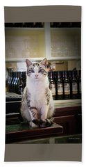 The Winery Cat Hand Towel