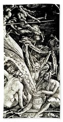 The Witches At The Sabbath Hand Towel