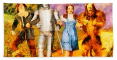 The Wizard Of Oz Cast Hand Towel