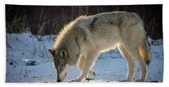 The Wolf Bath Towel