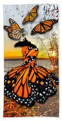 Bath Towel featuring the mixed media The Wonder Of You by Marvin Blaine