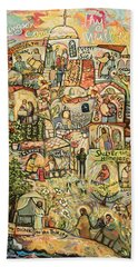The Works Of Mercy Hand Towel