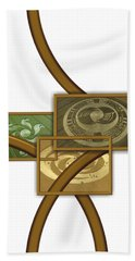 The World Of Crop Circles By Pierre Blanchard Hand Towel