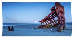 The Wreck Of The Peter Iredale Hand Towel