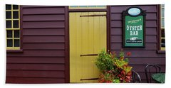 The Yellow Door In Annapolis Hand Towel