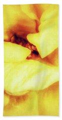 The Yellow Heart Bath Towel