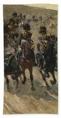 The Yellow Riders, George Hendrik Breitner, 1885 - 1886 Hand Towel