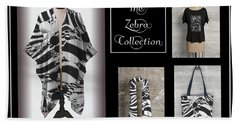 The Zebra Collection Hand Towel by Geraldine Alexander