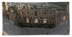Theater Of Herodes Atticus Hand Towel