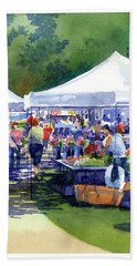 Theinsville Farmers Market Bath Towel