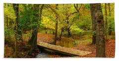 There Is Peace - Allaire State Park Bath Towel