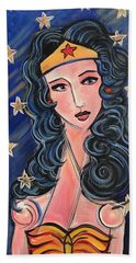 There's A Wonder Woman In Us All Bath Towel