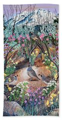 There's One In Every Crowd Bath Towel by Jennifer Lake