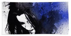 This Confession Means Nothing - Blue Hand Towel