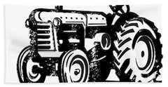 This Is How I Roll Tractor Bath Towel