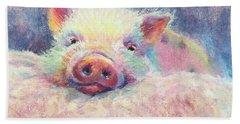 This Little Piggy Bath Towel