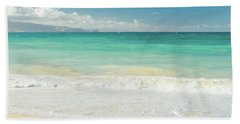 Hand Towel featuring the photograph This Paradise Life by Sharon Mau