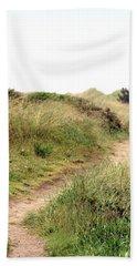 This Way To The Beach Hand Towel by Joseph Skompski