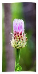 Thistle In The Canyon Bath Towel