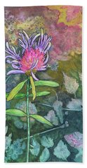 Thistle Bath Towel by Nancy Jolley