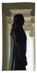 Thomas Jefferson Statue Bath Towel