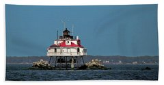 Thomas Point Shoal Light Hand Towel